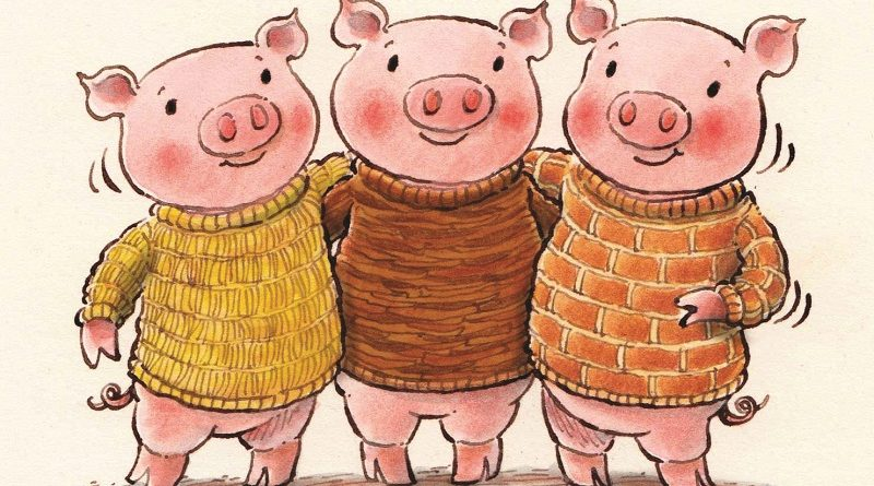 The Three Little Pigs - Oak house School